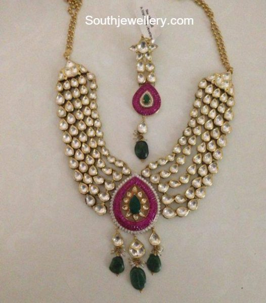 Kundan Necklace Latest Jewelry Designs Jewellery Designs