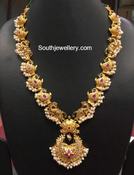 Paisley Design Gold Haram