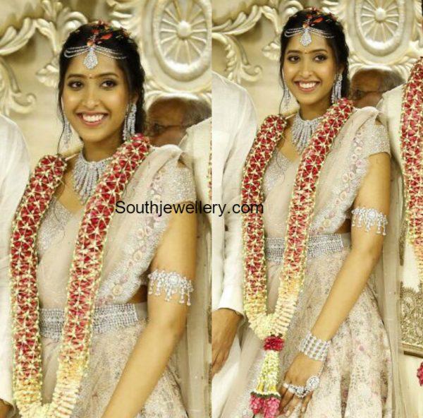 Shriya Bhupals Engagement Jewellery