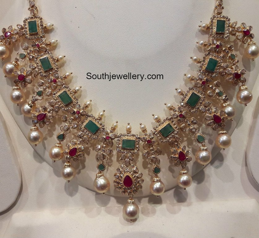 uncut diamond necklace latest jewelry designs page 2 of