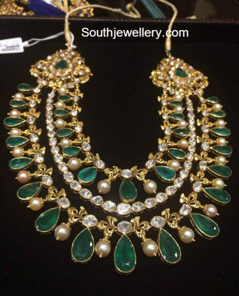 Layered Emerald Haram