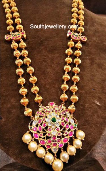 gundla-mala-kundan-pendant