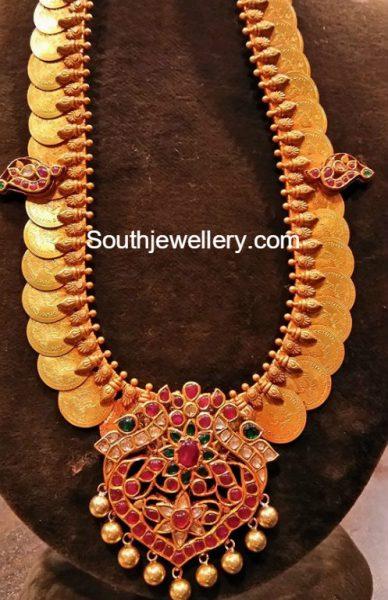 lakshmi-kasulaperu-haram-kundan-pendant