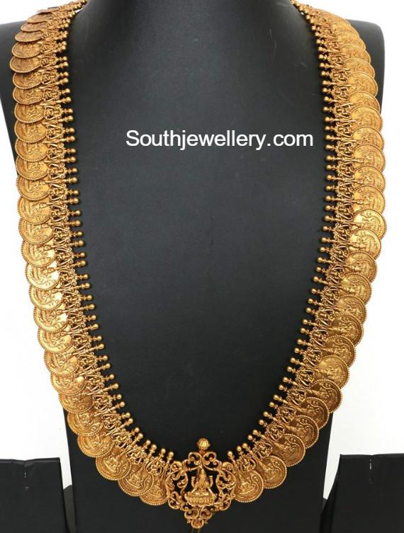 Lakshmi Kasu Haram Jewellery Designs