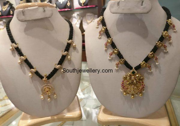 black-dori-gold-necklace-models