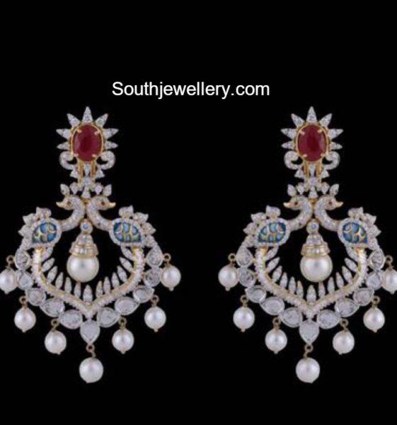 peacock-diamond-chandbalis