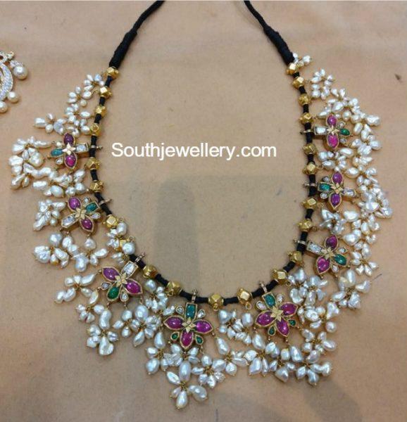 Black Dori Guttapusalu Necklace