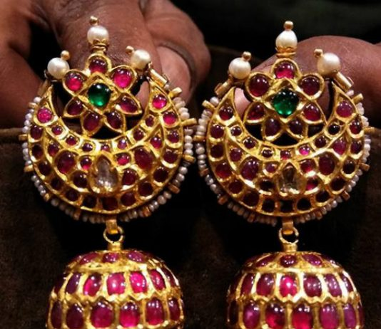 Kundan Earrings latest jewelry designs Jewellery Designs