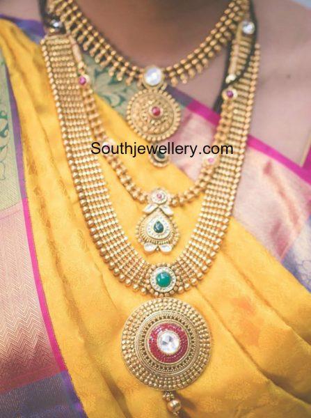 bride-antique-gold-jewellery