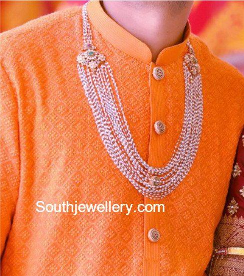 Multi String Beads Mala Designs for Men