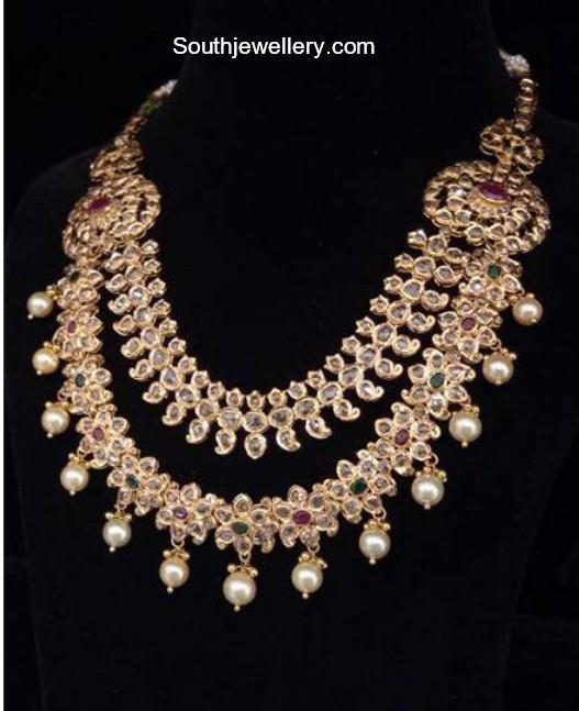 uncut diamond necklace latest jewelry designs jewellery
