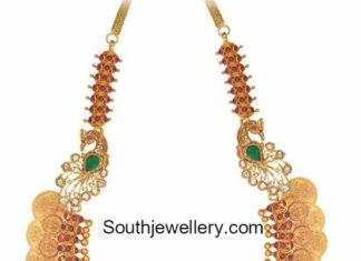 lakshmi kasulaperu necklace