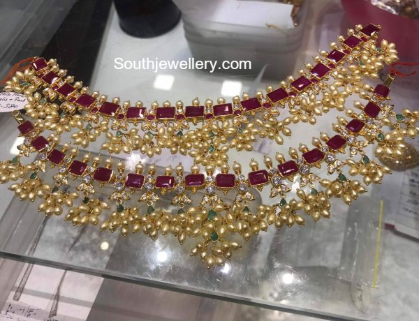 Ruby Guttapusalu Necklace