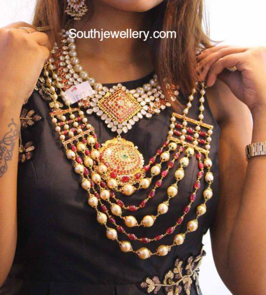 Ruby South Sea Pearls Mala