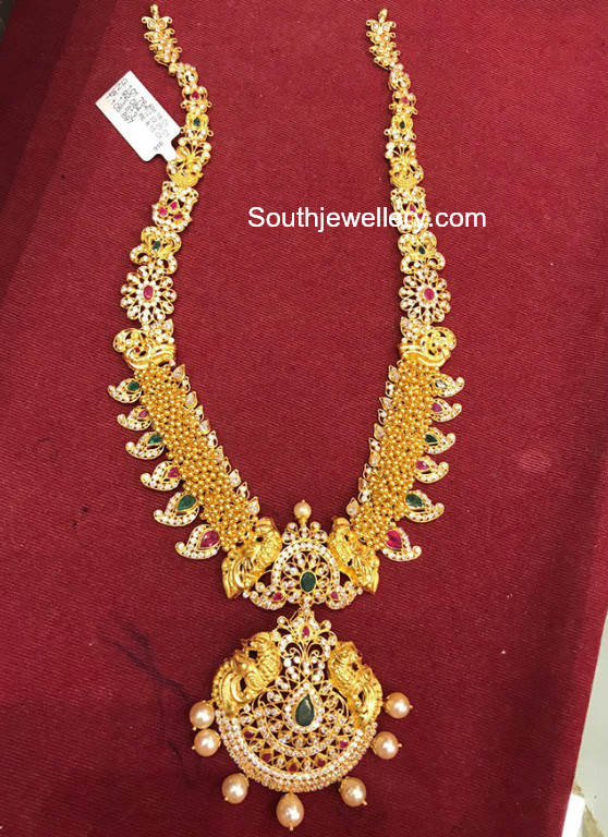 Gold Cz Haram Jewellery Designs
