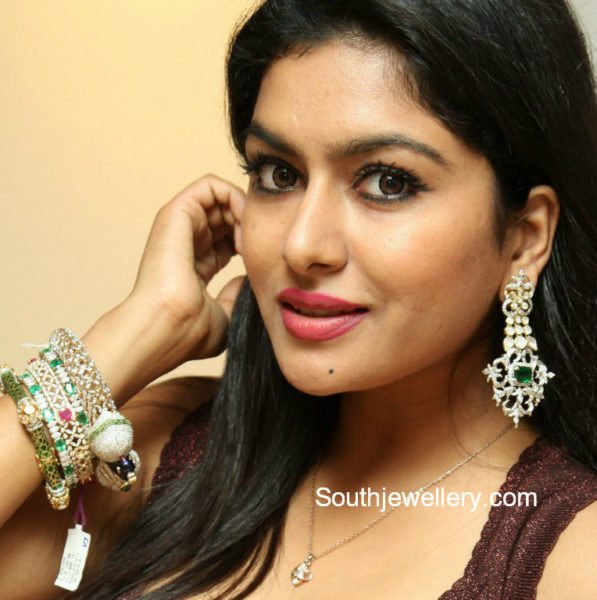 Diamond Earrings and Bangles