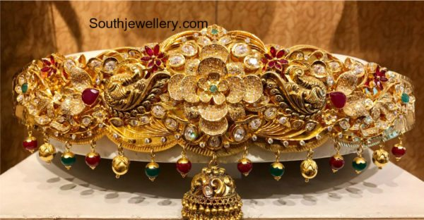 Antique Gold Nakshi Vaddanam