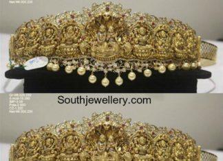 gold vaddanam latest models