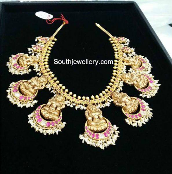 Lakshmi Pearls Necklace