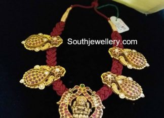 red dori necklace