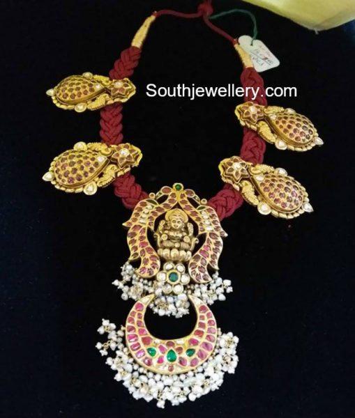 red dori necklace