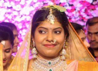 shyam prasad reddy daughter wedding jewellery