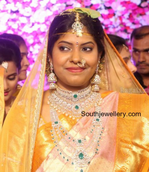 Shyam Prasad Reddy Daughter Maithris Wedding Jewellery