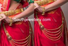 waist side chain gold 22 carat