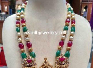 beads mala nakshi pendant
