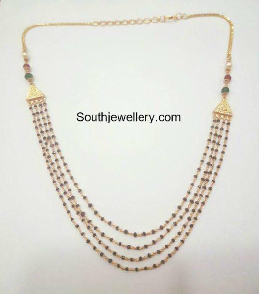Black Diamonds Mangalsutra Chain