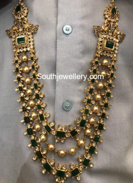 emerald polki long haram