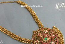 gajjalu haram kundan pendant