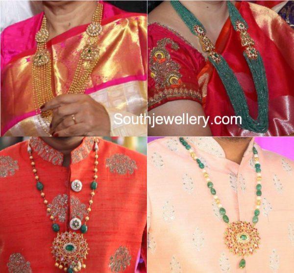 gold mala designs