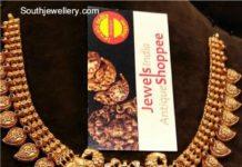 mango necklace nakshi pattern