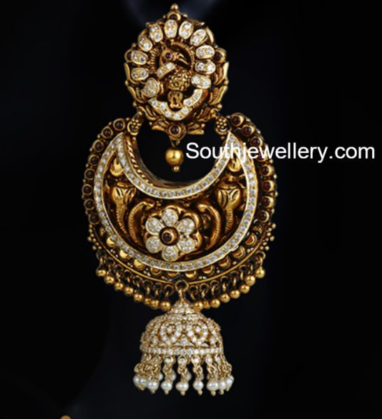 Antique Nakshi Chandbalis