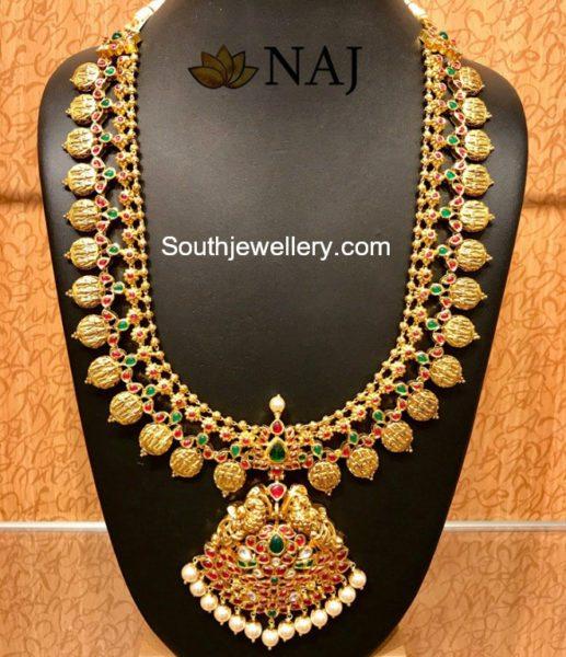 Ram Parivar Kasu Haram Jewellery Designs