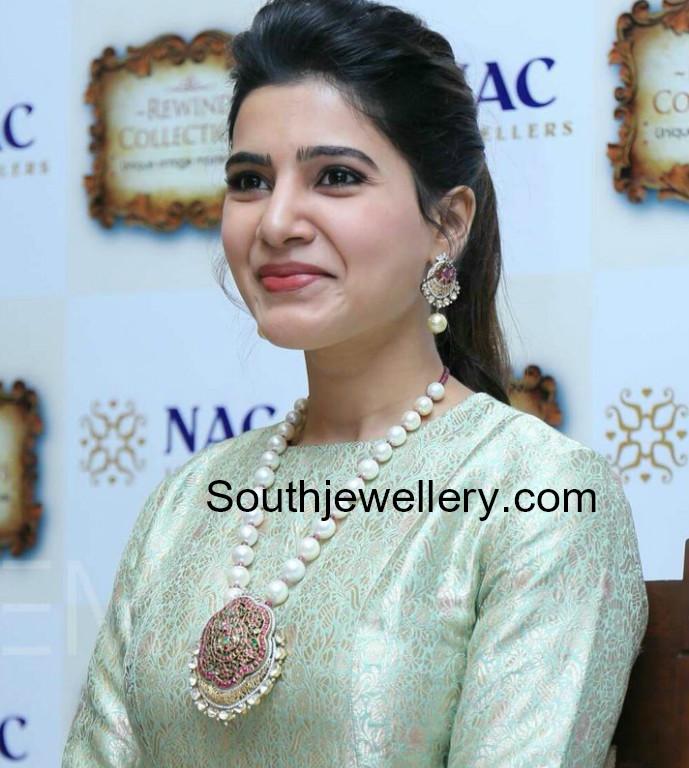 Samantha Ruth Prabhu In Nac Jewellery Indian Jewellery