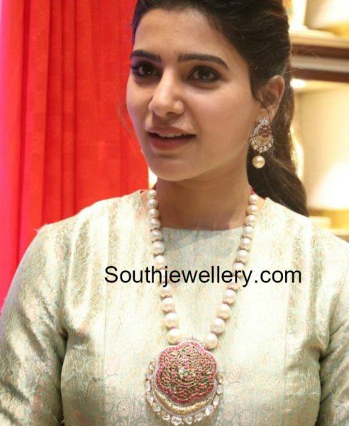 Samantha Ruth Prabhu in NAC Jewellery