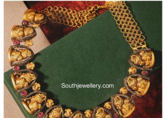shiva parvathy necklace