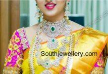 telugu bride diamond jewellery