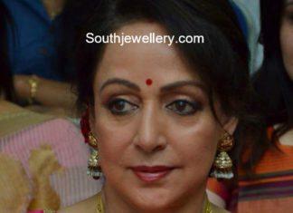 hema malini in south indian jewellery