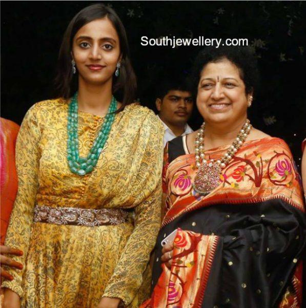 Lakshmi Pranathi and Shalini Nandamuri in Statement Jewellery