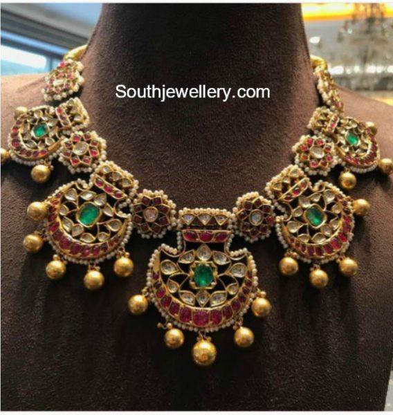 Kundan Pearl Necklace
