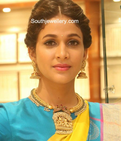 lavanya tripathi gold jewellery