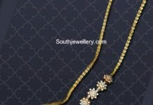 thali chain with side pendants