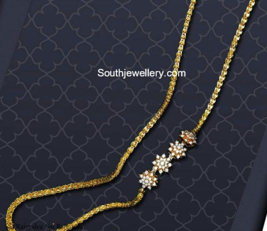 Thali Chain Designs latest jewelry designs Jewellery Designs