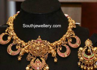 gold necklace models 2017