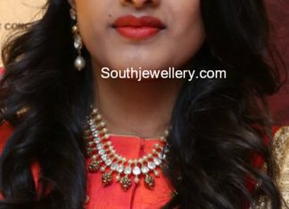 latest gold necklace and haram models
