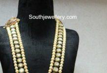 south sea pearl polki mala
