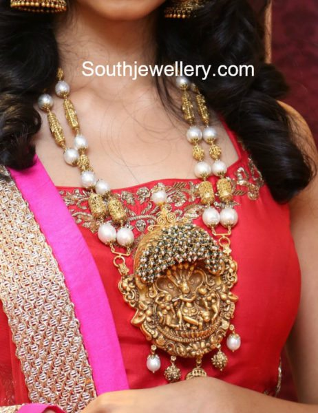 temple jewellery designs 2017